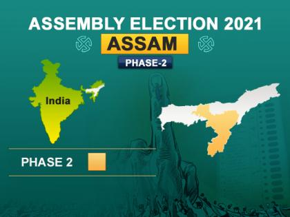 Voting begins for second phase of Assam assembly election | Voting begins for second phase of Assam assembly election