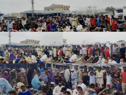 Fishermen lead anti-Pak protests in Balochistan, demand rights, jobs | Fishermen lead anti-Pak protests in Balochistan, demand rights, jobs