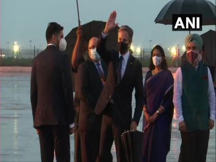 US State Secy Antony Blinken lands in New Delhi on two-day India visit | US State Secy Antony Blinken lands in New Delhi on two-day India visit
