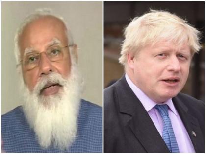 PM Modi to hold virtual summit with UK counterpart Boris Johnson today   PM Modi to hold virtual summit with UK counterpart Boris Johnson today