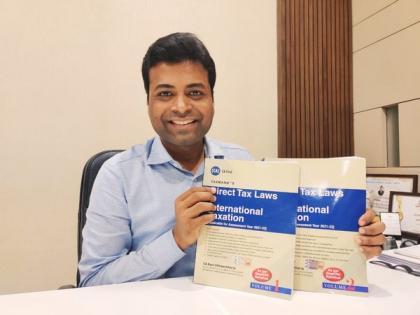 Taxmann publishes CA Ravi Chhawchharia's book on 'Direct Tax Laws and International Taxation' | Taxmann publishes CA Ravi Chhawchharia's book on 'Direct Tax Laws and International Taxation'