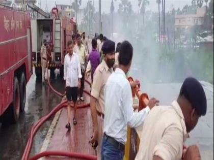 Fire at Patna factory, no casualties reported   Fire at Patna factory, no casualties reported