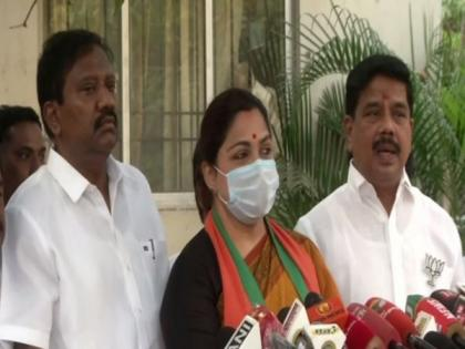 BJP complains to Chennai police commissioner about attack on RSS members by DMK | BJP complains to Chennai police commissioner about attack on RSS members by DMK