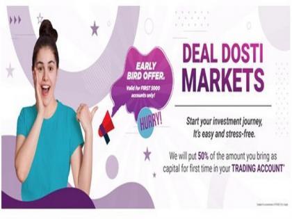 Dealmoney Securities-Offering investment opportunities through Deal Dosti Markets   Dealmoney Securities-Offering investment opportunities through Deal Dosti Markets