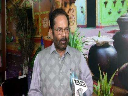 Opposition trying to hijack Parliament proceedings: Mukhtar Abbas Naqvi   Opposition trying to hijack Parliament proceedings: Mukhtar Abbas Naqvi