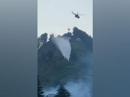 IAF helicopters deployed to douse fire in J-K's Ramban   IAF helicopters deployed to douse fire in J-K's Ramban