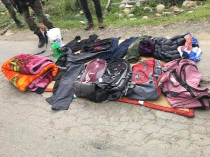 J-K: Terrorists give slip to security forces in Kulgam | J-K: Terrorists give slip to security forces in Kulgam