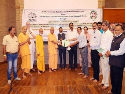 ISKCON and DBSKKV University join hands to revolutionize agriculture and farming in Maha's Palghar   ISKCON and DBSKKV University join hands to revolutionize agriculture and farming in Maha's Palghar