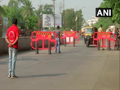 Pune police enforced complete weekend lockdown   Pune police enforced complete weekend lockdown