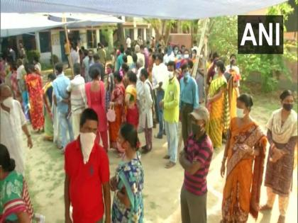 West Bengal polls: 56.28 pc voter turnout recorded till 2:30 pm   West Bengal polls: 56.28 pc voter turnout recorded till 2:30 pm