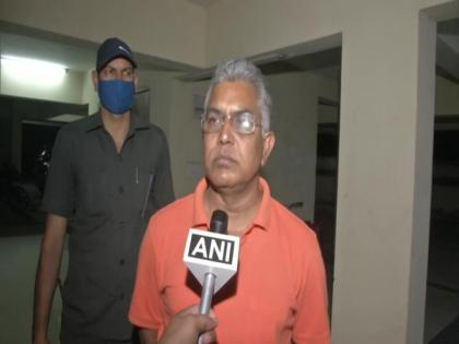 People of WB chosen us as strong opposition, says Dilip Ghosh | People of WB chosen us as strong opposition, says Dilip Ghosh