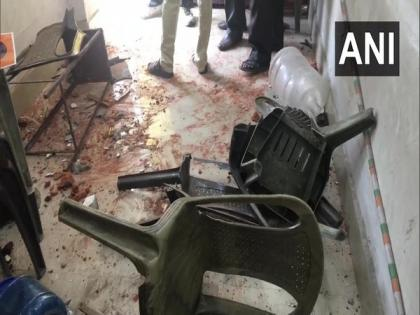 BJP, ABVP offices in Bengal allegedly vandalised by TMC workers | BJP, ABVP offices in Bengal allegedly vandalised by TMC workers