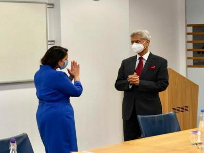 Jaishankar meets UK Home Secy Priti Patel, signs agreement to facilitate legal travel   Jaishankar meets UK Home Secy Priti Patel, signs agreement to facilitate legal travel
