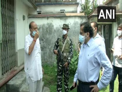 WB: MHA team assesses violence-affected areas in North 24 Parganas district | WB: MHA team assesses violence-affected areas in North 24 Parganas district