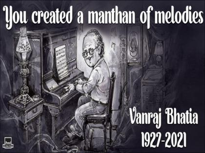 'You created a manthan of melodies': Amul pays tribute to music composer Vanraj Bhatia | 'You created a manthan of melodies': Amul pays tribute to music composer Vanraj Bhatia