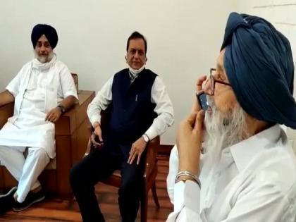 'Will invite you to Punjab soon': Akali Dal's Parkash Badal makes phone call to new ally Mayawati   'Will invite you to Punjab soon': Akali Dal's Parkash Badal makes phone call to new ally Mayawati