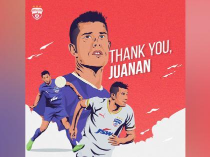 ISL: Bengaluru FC part ways with Spanish defender Juan Gonzalez | ISL: Bengaluru FC part ways with Spanish defender Juan Gonzalez