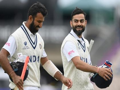 Eng vs Ind: Pujara doesn't care about criticism around him, says Kohli   Eng vs Ind: Pujara doesn't care about criticism around him, says Kohli