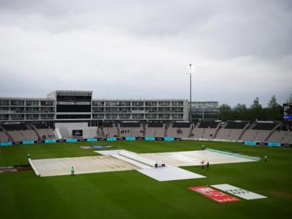 WTC final, Day Three: Start of play delayed due to wet outfield   WTC final, Day Three: Start of play delayed due to wet outfield