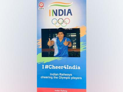 Tokyo Olympics: Indian Railways sets up 'selfie points' to encourage people to show support to athletes | Tokyo Olympics: Indian Railways sets up 'selfie points' to encourage people to show support to athletes