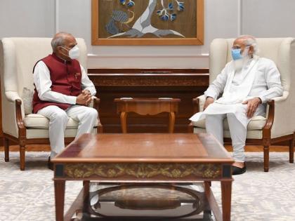 Tamil Nadu Governor meets PM Modi   Tamil Nadu Governor meets PM Modi