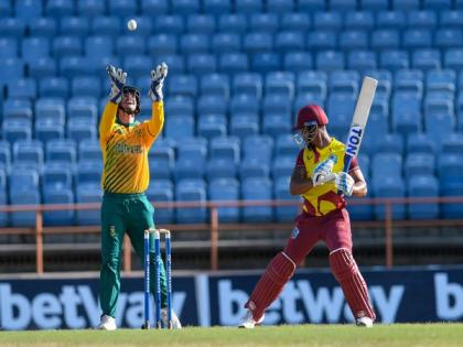 South Africa down West Indies by one run in 3rd T20I, take 2-1 series lead   South Africa down West Indies by one run in 3rd T20I, take 2-1 series lead