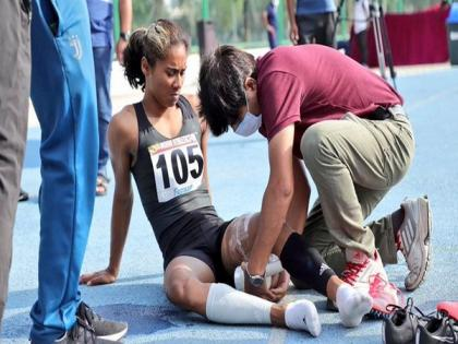 Told Hima Das not to lose heart on missing Tokyo Olympics: Rijiju | Told Hima Das not to lose heart on missing Tokyo Olympics: Rijiju