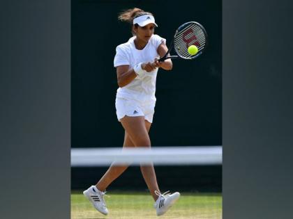 Wimbledon: Mixed doubles pair of Sania Mirza, Rohan Bopanna crash out | Wimbledon: Mixed doubles pair of Sania Mirza, Rohan Bopanna crash out