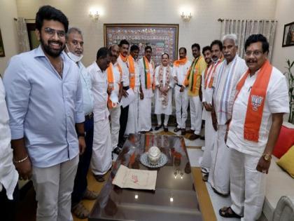 Under PM Modi's leadership, NDA govt will ensure all-around development of Puducherry: Nadda | Under PM Modi's leadership, NDA govt will ensure all-around development of Puducherry: Nadda