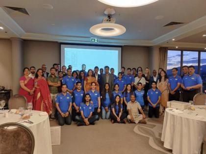 Tokyo Olympics: Anand encourages Oly-bound Indian shooters during Ambassador's dinner in Zagreb | Tokyo Olympics: Anand encourages Oly-bound Indian shooters during Ambassador's dinner in Zagreb
