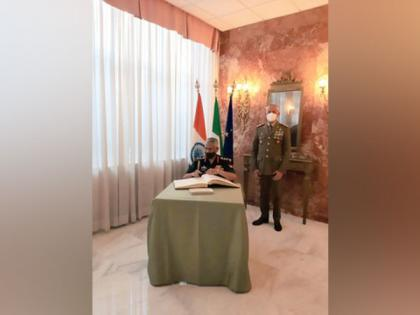 Army Chief Naravane discusses bilateral defence cooperation with Italian Defence Minister | Army Chief Naravane discusses bilateral defence cooperation with Italian Defence Minister