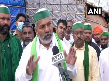 Farmers' protest: BKU leader Rakesh Tikait leaves for Singhu border | Farmers' protest: BKU leader Rakesh Tikait leaves for Singhu border