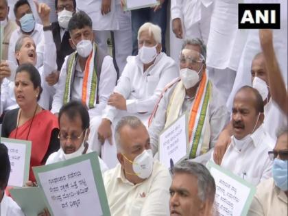 Congress organises protest marches, seeks SC-monitored probe into surveillance allegations | Congress organises protest marches, seeks SC-monitored probe into surveillance allegations