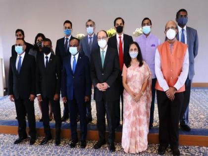 Foreign Secy Shringla meets UNGA President-elect Abdulla Shahid, exchange views on strengthening ties | Foreign Secy Shringla meets UNGA President-elect Abdulla Shahid, exchange views on strengthening ties