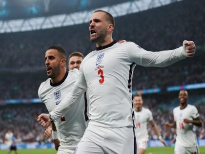 England's Luke Shaw registers fastest goal in history of Euro finals | England's Luke Shaw registers fastest goal in history of Euro finals