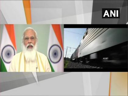 PM Modi launches Railway projects in Gujarat   PM Modi launches Railway projects in Gujarat