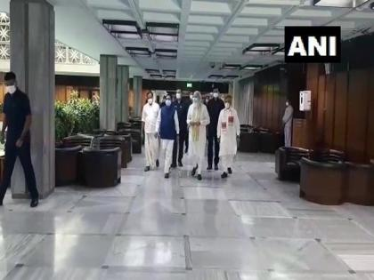 NDA leaders meet ahead of Parliament Monsoon session   NDA leaders meet ahead of Parliament Monsoon session