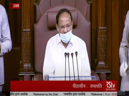 Rajya Sabha to function normally after intervention of Naidu, Piyush Goyal | Rajya Sabha to function normally after intervention of Naidu, Piyush Goyal