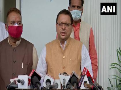 Pegasus row: U'khand CM says Congress wants to halt development work of country | Pegasus row: U'khand CM says Congress wants to halt development work of country