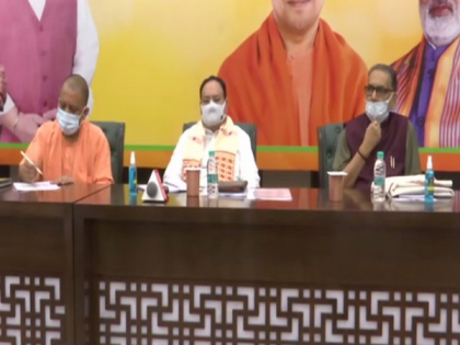 BJP worked as guardian of democracy to control COVID pandemic, says UP CM   BJP worked as guardian of democracy to control COVID pandemic, says UP CM