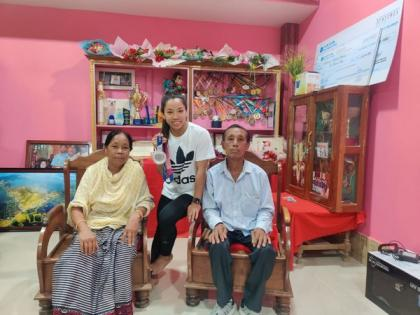 Feeling of meeting family after 2 years is beyond words, says Mirabai Chanu | Feeling of meeting family after 2 years is beyond words, says Mirabai Chanu