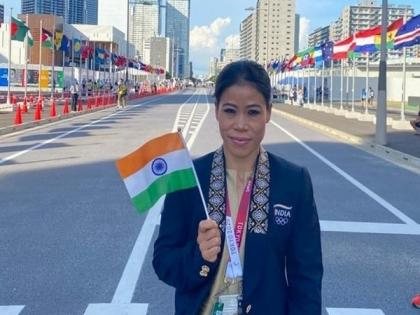 You're a legend, India is proud of you: Rijiju, SAI hail Mary Kom after boxer's exit from Tokyo Olympics   You're a legend, India is proud of you: Rijiju, SAI hail Mary Kom after boxer's exit from Tokyo Olympics