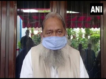 People should follow safety guidelines to prevent spread of COVID, says Haryana Health Minister Anil Vij | People should follow safety guidelines to prevent spread of COVID, says Haryana Health Minister Anil Vij