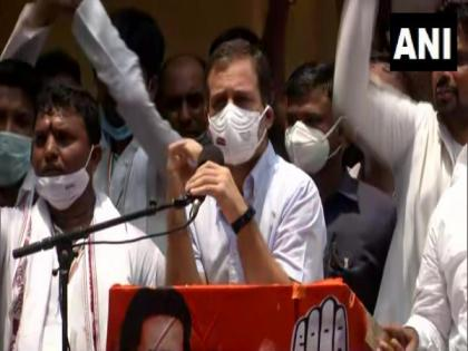 Employment of youth stolen: Rahul Gandhi   Employment of youth stolen: Rahul Gandhi