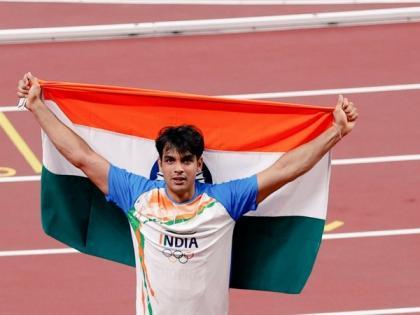 Tokyo Olympic gold medallist Neeraj Chopra's on-field show making him popular on social media   Tokyo Olympic gold medallist Neeraj Chopra's on-field show making him popular on social media