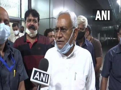 Bihar CM arrives in New Delhi for meeting on Naxal affected states with Amit Shah   Bihar CM arrives in New Delhi for meeting on Naxal affected states with Amit Shah
