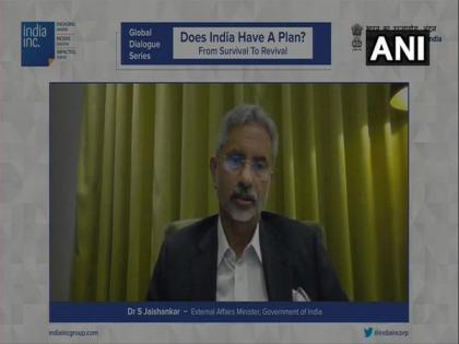 COVID vaccines being made in India due to our efficient production venue: EAM Jaishankar | COVID vaccines being made in India due to our efficient production venue: EAM Jaishankar