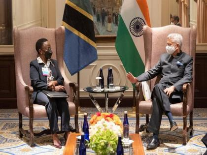 Jaishankar meets Tanzanian counterpart on UNGA sidelines | Jaishankar meets Tanzanian counterpart on UNGA sidelines