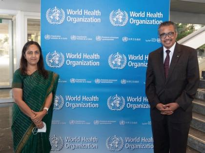 MEA hold talks with DG WHO, discuss cooperation chains in Health sector | MEA hold talks with DG WHO, discuss cooperation chains in Health sector