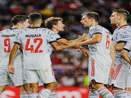 Champions League: Lewandowski strikes twice as Bayern Munich defeat Barcelona | Champions League: Lewandowski strikes twice as Bayern Munich defeat Barcelona